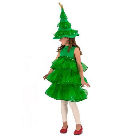 Princess Paradise Child Glitter Christmas Tree Costume - image 1 of 1