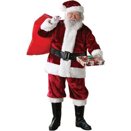 9d442364f6829 Costume De Père Noël Régence Crimson Adulte - image 1 de 1 .