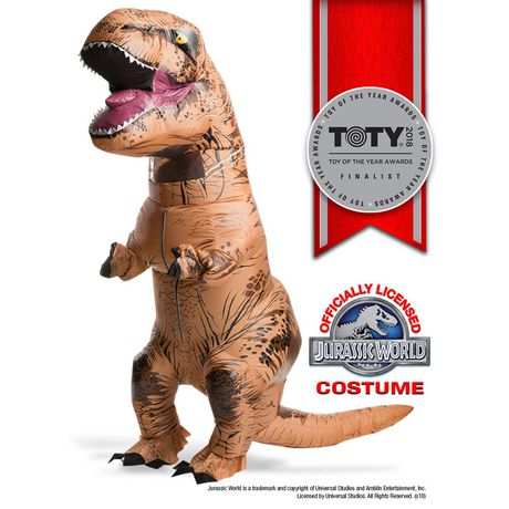 Rubie's Adult Jurassic World Inflatable T-rex Costume - image 1 of 1