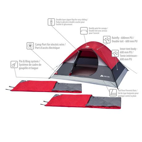 Ozarl Trail 3-Piece Camping Combo - image 3 of 6