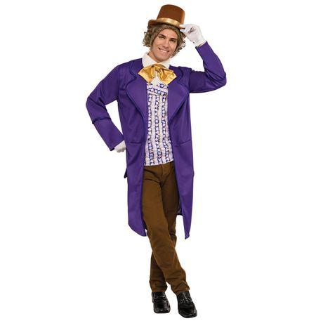 Costume De Willy Wonka Pour Adulte - image 1 de 1