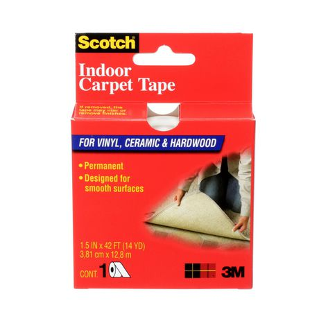 Scotch 174 Double Sided Carpet Tape Walmart Canada