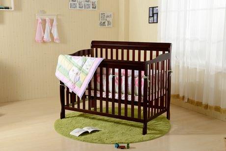 Concord Baby Carson Java Expresso 4 In 1 Baby Crib