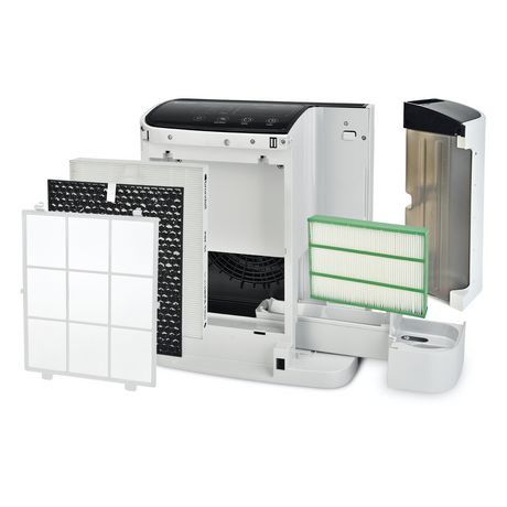 O2 + Revive Purificateur d'Air TrueHEPA + Humidificateur, Blanc - image 3 de 9