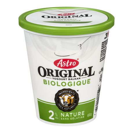 Astro® Original Balkan Style Organic Yogourt - 2% Plain