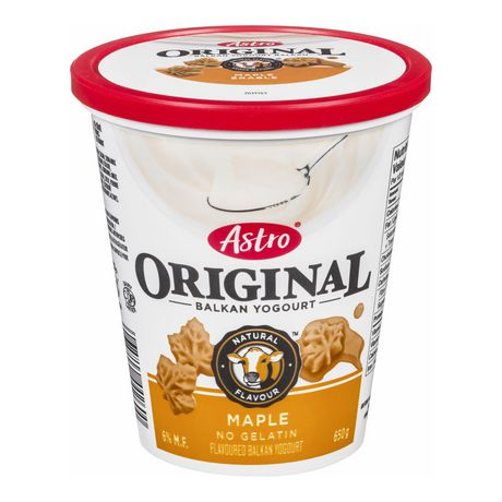 Astro Original Yogourt Balkan Maple 6%