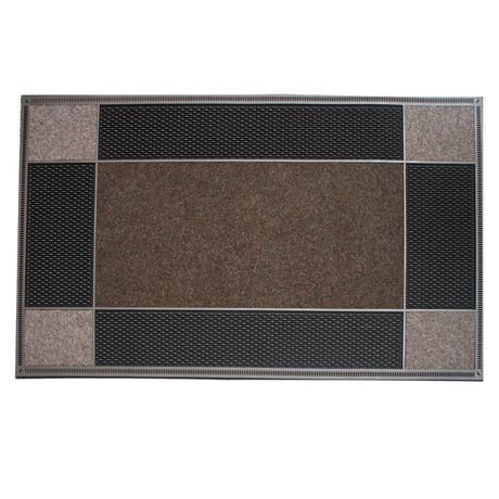 """Floor Choice Runway Doormat Brown 23""""x46"""" - image 1 of 1"""