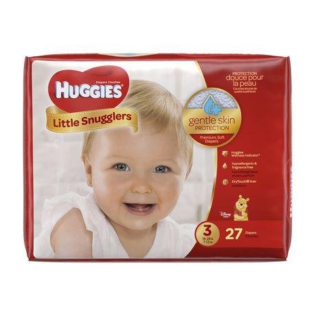 Couches huggies little snugglers emballage jumbo walmart canada - Couche huggies nouveau ne ...