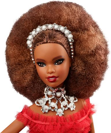 2018 Holiday Barbie Doll -- Brown Hair - image 3 of 8