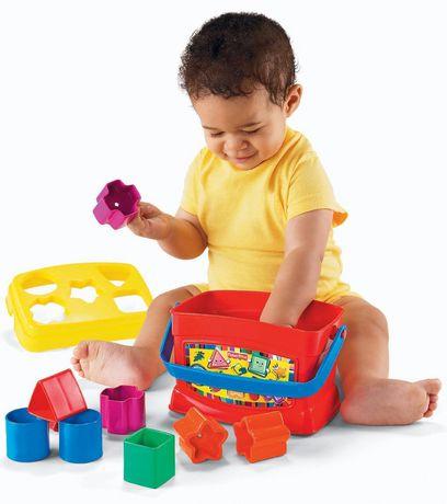 Fisher-Price Brilliant Basics Baby's First Blocks, 10 Blocks - image 2 of 9