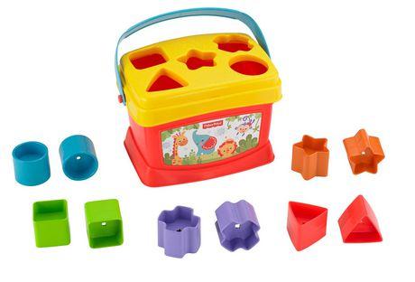 Fisher-Price Brilliant Basics Baby's First Blocks, 10 Blocks - image 6 of 9