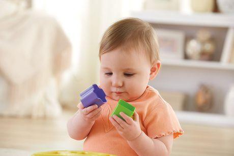 Fisher-Price Brilliant Basics Baby's First Blocks, 10 Blocks - image 8 of 9