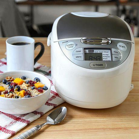 Cuiseur à riz Micom de la série Tiger JAX-S avec plaque de cuisson Tacook, 10 Cups - image 3 de 4
