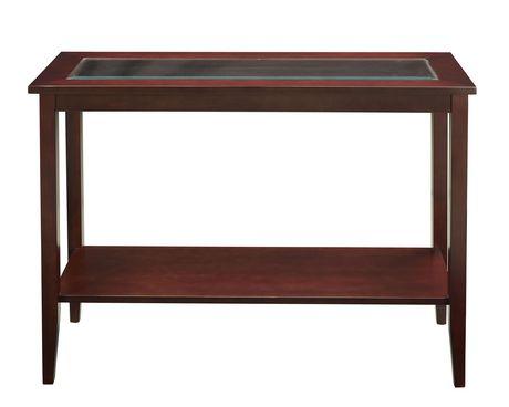 Enjoyable Mainstays Console Table Creativecarmelina Interior Chair Design Creativecarmelinacom