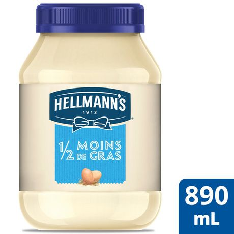 Hellmann's 1/2 The Fat Mayonnaise Dressing - image 1 of 7