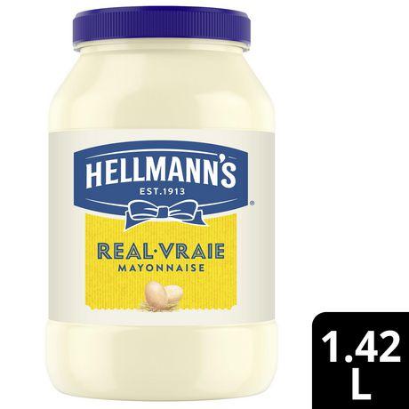 Mayonnaise Hellmann's Vraie 1.42 LT - image 1 de 10