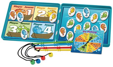 Take 'n' Play Anywhere - Go Fishing Magnetic GAME - image 2 of 2