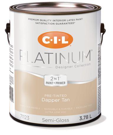 CIL® Platinum® Interior Paint Pre Tinted Dapper Tan   3.78 L