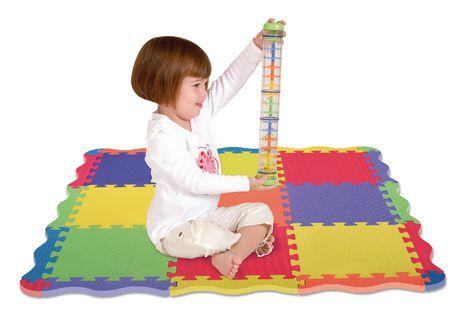 Edushape Play Mat Interlocking Foam Floor Tiles Walmart