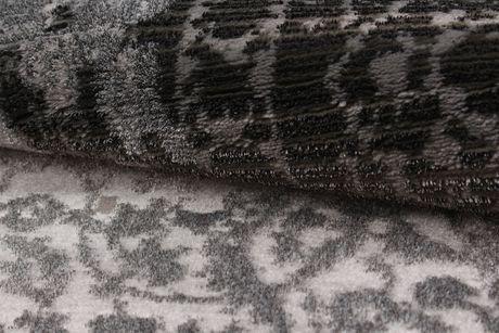 "eCarpetGallery Chateau Grey Polypropylene Rug 6'7"" X 9'6"" - image 4 of 5"