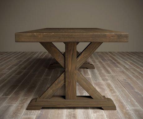 Table de salle manger x base de urban woodcraft de 98 po for Salle a manger urban