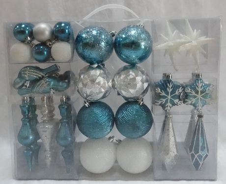 40 Count Shatterproof Ornaments - image 1 of 1