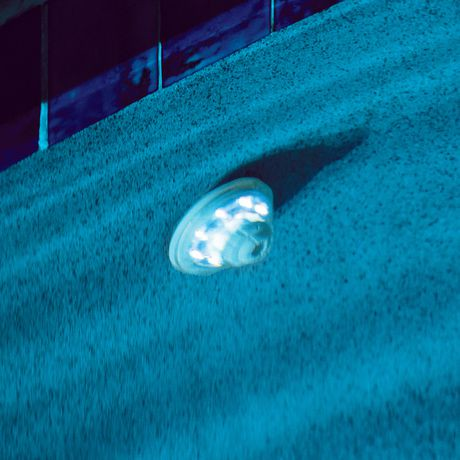 Blue wave hydro powered return jet led pool light and show for Lumiere led piscine hors sol