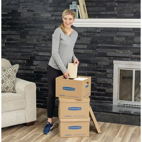 Fellowes® Bankers Box® SmoothMove™ Prime Moving Boxes - Small - image 4 of 5