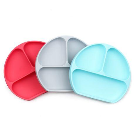 Bumkins Silicone Grip Dish - image 1 of 4