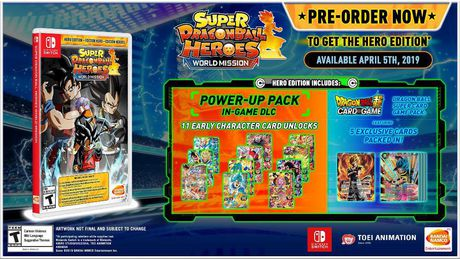 Super Dragon Ball Heroes: World Mission Heroes Edition [Nintendo Switch] - image 2 of 2