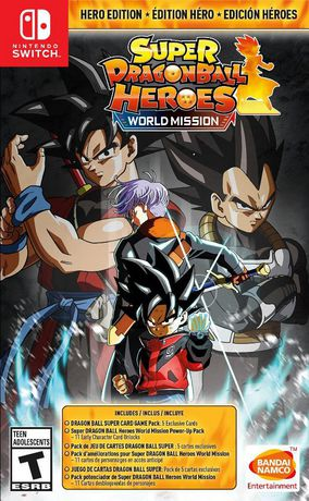Super Dragon Ball Heroes: World Mission Heroes Edition [Nintendo Switch] - image 1 of 2