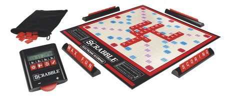 Scrabble Game (Electronic Scoring) - image 2 of 4