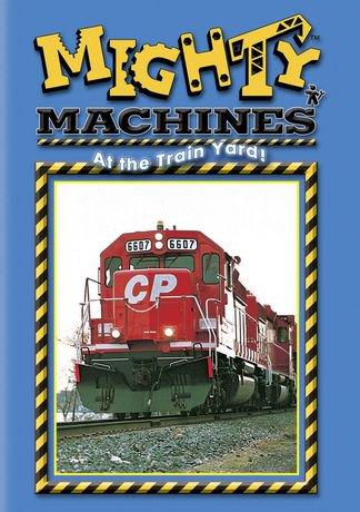 Mighty Machines At The Train Yard Dvd English