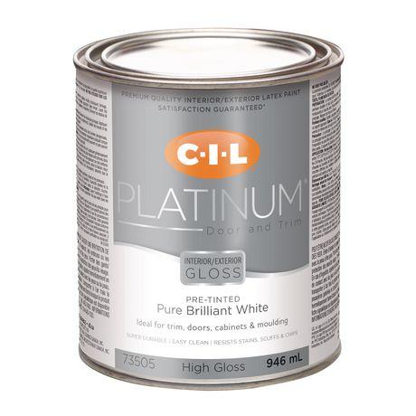 Cil Platinum Interiorexterior High Gloss Door Trim Paint Pre