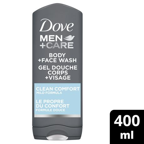 Dove Men Care Clean Comfort Body + Face Wash - image 1 of 6