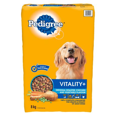 PEDIGREE® VITALITY+™ Roasted Chicken And Vegetable 8kg - image 1 of 5