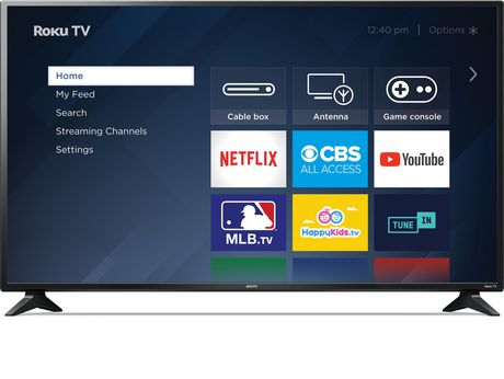 "Sanyo 50"" 1080p LED Roku Smart TV, FW50R49FC - image 1 of 9"