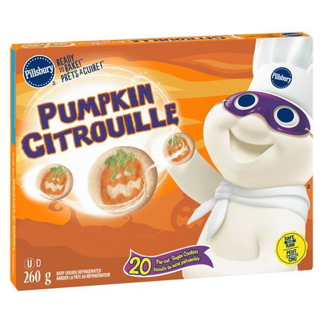 Pillsbury Ready to Bake! Sugar Cookies Pumpkin - image 1 of 6