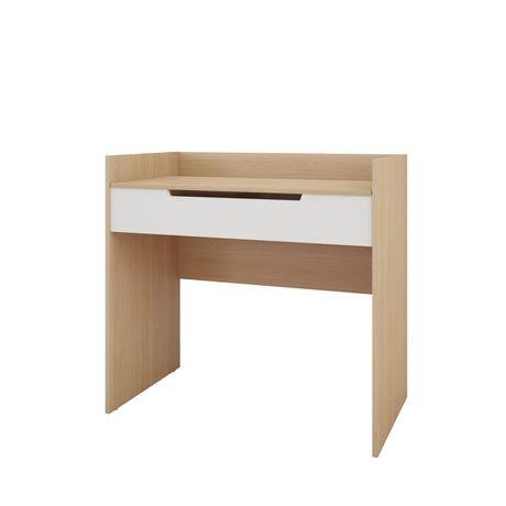 maquilleuse bureau nordik blanc et rable naturel walmart canada. Black Bedroom Furniture Sets. Home Design Ideas