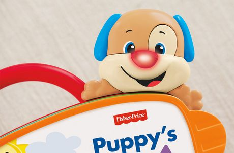 Fisher-Price Laugh And Learn Puppy's Abc Book Playset - English Edition - image 4 of 8