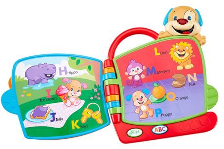 Fisher-Price Laugh And Learn Puppy's Abc Book Playset - English Edition - image 6 of 8