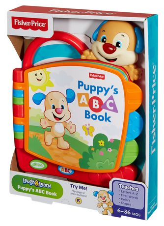 Fisher-Price Laugh And Learn Puppy's Abc Book Playset - English Edition - image 8 of 8