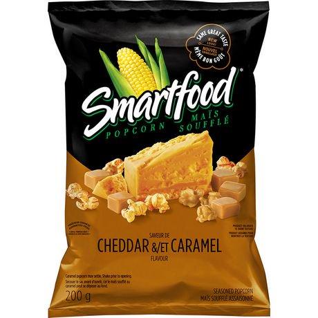 Smartfood Cheddar & Caramel Popcorn | Walmart Canada