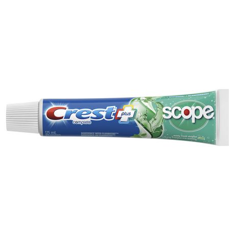 Crest + Scope Complete Whitening Toothpaste, Minty Fresh - image 3 of 7