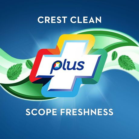 Crest + Scope Complete Whitening Toothpaste, Minty Fresh - image 5 of 7