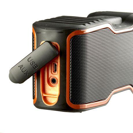 blackweb Soundsurf Portable Wireless Waterproof Speaker