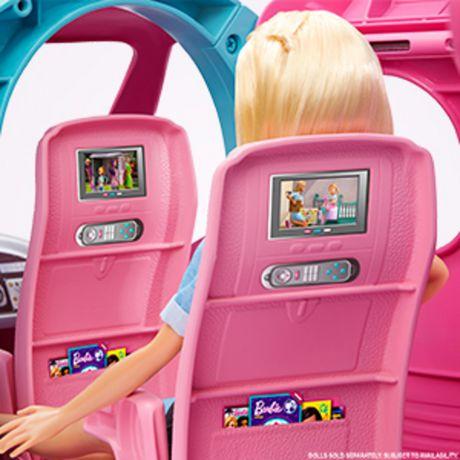 Barbie Coffret de Jeu Avion de Rêve - image 7 de 9