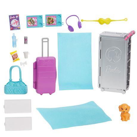 Barbie Coffret de Jeu Avion de Rêve - image 9 de 9