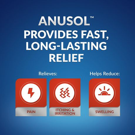 Anusol Multi-Symptom Hemorrhoid Pain Relief Ointment - image 3 of 9