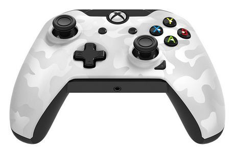 PDP Wired Controller for Xbox One (white Camo - Na) | Walmart Canada